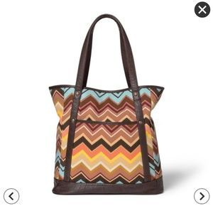 NWT Missoni LIMITED EDITION Colore Zig Zag Tote
